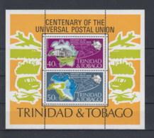 Trinidad & Tobago Michel Cat.No.   Mnh/** Sheet 12 Upu - Trinidad & Tobago (1962-...)