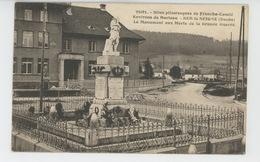 MORTEAU (environs) - SUR LA SEIGNE - Le Monument Aux Morts - France