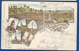 Gruss SAARBRÜCKEN  EHRENTHAL   écrite En 1900 - Saarbrücken