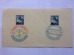BOHEMIA & MORAVIA 1940 Piece With Sonderstempels Pardubitz Pardubice And Schuttenhofen Susice - Cartas