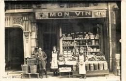 France - 75 - XIIIe Arr - Carte-Photo - 8 Rue Des Wallons - Epicerie ' Au Bon Lait De La Ferme - District 13