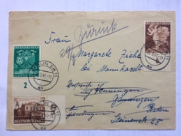GERMANY 1941 Cover Berlin And Re-directed - Briefe U. Dokumente