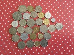 LOT DE 30 PIÈCES ESPAGNOLES - Munten & Bankbiljetten