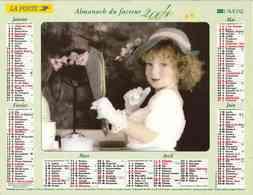 °° Calendrier Almanach La Poste 2004 Lavigne - Dépt 65 - Enfants - Calendars