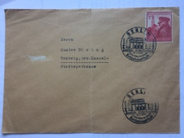 GERMANY 1939 Cover Berlin Reichshauptstadt Sonderstempel / Handstamp To Homberg - Germany