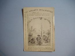 "Carte De Visite  ""  LES AMANTS DE LA NATURE  ""  ' Invitation 8° Exposition  - 8 Rue Fursteinberg  ?  -  A Localiser.... - Tarjetas De Visita"