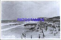 114688 URUGUAY PIRIAPOLIS DTO MALDONADO VISTA PARCIAL BEACH PLAYA POSTAL POSTCARD - Uruguay