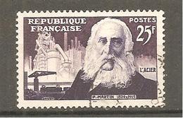 FRANCE 1955 Y T N ° 1016   Oblitéré - Francia