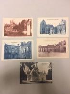 Lot De 5 CPA Anciennes Esternay Place Marché, église, Chateau...circulées Vers 1935 - Esternay