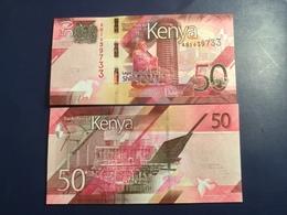 KENIA New 50 Shilings Just Issued. 2019.    Pnew.  UNC - Kenia
