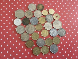 LOT DE 30 PIÈCES ESPAGNOLES - Monnaies & Billets