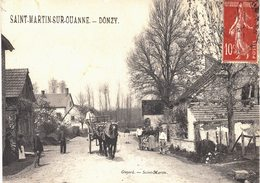 Carte POSTALE  Ancienne De  SAINT MARTIN Sur OUANNE - DONZY - Other Municipalities