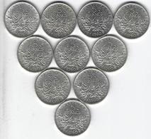 FRANCE SEMEUSE ARGENT 5 Francs X10 1960 - France