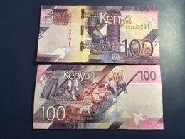 KENIA New 100 Shilings Just Issued. 2019.    Pnew.  UNC - Kenia