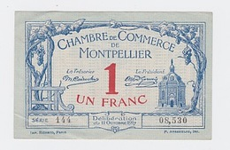 1 Franc  12 Octobre 1917 Pick 18 - Chambre De Commerce