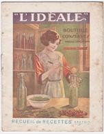 """LES ISLETTES (55) PUBLICITE. BOUTEILLES Et CONSERVES """" L'IDEALE """". QUINCAILLERIE LEQUY. Pt-à-MOUSSON (54) - Advertising"""