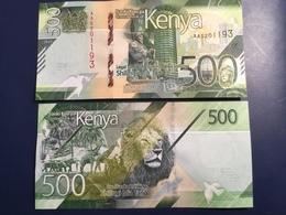 KENIA New 500 Shilings Just Issued. 2019.    Pnew.  UNC - Kenia