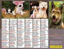 °° Calendrier Almanach La Poste 2005 Cartier Bresson - Dépt 77 - Chiens Et Chats - Calendars