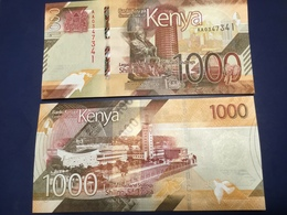 KENIA New 1'000 Shilings Just Issued. 2019.    Pnew.  UNC - Kenia