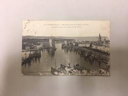 CPA La Rochelle Vue Panoramique De La Rade Et Du Port Vers 1920 Circulée - La Rochelle