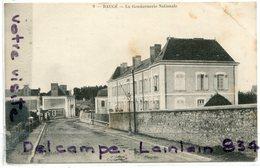 BAUGE - ( Maine Et Loire ), La Gendarmerie Nationale Courses, écrite, 1907, Voyagé Dans Enveloppe, TBE, Scans. - Autres Communes