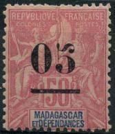 Madagascar (1902) N 48 * (charniere) - Non Classificati