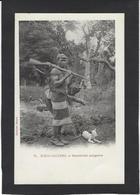 CPA Madagascar Afrique Noire Braconnier Chasse Chasseur Non Circulé - Madagascar