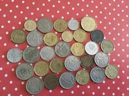 LOT DE 30 PIÈCES ESPAGNOLES - Münzen & Banknoten