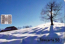 FRANCE Télécarte 50 Unités    Sc7 De 11.94      Hiver      Tirage 4k Ex. - Jahreszeiten