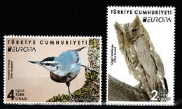 (4416-17) TURKEY EUROPA 2019 (NATIONAL BIRDS) STAMPS SET MNH** - Nuevos