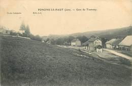 FONCINE-le-HAUT- La Gare Du Tramway - Autres Communes