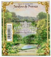 RC 12105 FRANCE BF N° F4663 JARDINS DE FRANCE SAINT CLOUD BLOC FEUILLET NEUF ** A LA FACIALE - Sheetlets