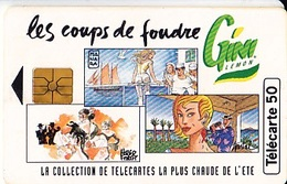 FRANCE Télécarte 50 Unités    Gem De 07.94     Gini Les Coups De Foudre      Tirage 1k Ex. - Seasons