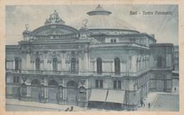 BARI-TEATRO PETRUZZELLI-CARTOLINA  VIAGGIATA-ILO 18-8-1921 - Bari