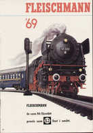 Catalogue FLEISCHMANN 1969 HO INTERNATIONAL AUTORALLYE + PREIS Kr SV  - En Suédois - Livres Et Magazines
