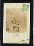 CPA Guinée Bissau Portugal Types Carte Photo RPPC Circulé - Guinea-Bissau