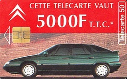 FRANCE Télécarte 50 Unités    So3 De 09.94     Citroën XM 69 Lyon    Tirage 1 005 000 Ex - Cars