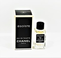 Miniatures De Parfum    ÉGOÏSTE De  CHANEL EDT   4  Ml  De  Chanel  + Boite - Mignon Di Profumo Uomo (con Box)