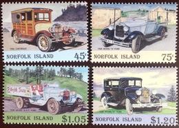 Norfolk Island 1995 Vintage Cars MNH - Norfolk Island