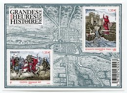 RC 12113 FRANCE BF N° F4704 LES GRANDES HEURES DE L'HISTOIRE DE FRANCE BLOC FEUILLET NEUF ** A LA FACIALE - Blocs & Feuillets