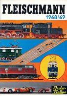Catalogue FLEISCHMANN 1968/69 HO INTERNATIONAL AUTORALLYE + PREIS Kr SV  - En Suédois - Other