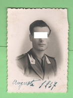 Augusta Militari Guardia Alla Frontiera Divise Uniformi Regio Esercito Uniforms Uniformes Foto 1937 - Guerre, Militaire