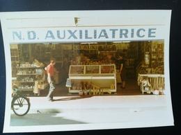 """ENSEIGNE N. D. AUXILIATRICE LOURDES, HÔTEL CAPRI BLANÈS, """"GRAINES D ÉLITE CLAUSE"""" LIMOGES FRANCE PLAGE OSTENDE, 65 PHOTO - Lieux"""