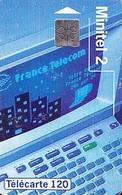 FRANCE Télécarte 120 Unités    So5 De 08.94    Minitel 2    Tirage 2k Exemplaires - Telefoni