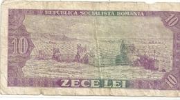 BANCA NATIONALA A REPUBLICII SOCIALISTE ROMANIA . 10 LEI . N° G.0169 .  . 2 SCANES - Roumanie