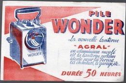 Buvard PILE WONDER Lanterne AGRAL  (PPP11067) - Baterías
