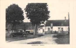 PIE.T Jm2.19-7422 : MARIGNY. CAFE DE LA PLACE . AUTOMOBILE - Frankrijk