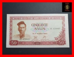 GUINEA 50 Sylis 1980   P. 25 UNC - Guinea