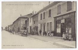 CPA Isère 38 Champier La Route Vers L'hôtel Bally Près La Côte St Saint André Eclose Frette Chatonnay Montrevel Commelle - Sonstige Gemeinden