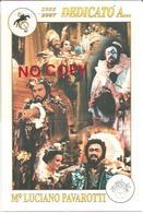 Modena, 24.10.2009, Mostra Filatelica Omaggio A Luciano Pavarotti. - Cantanti E Musicisti